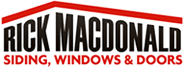 Rick MacDonald Siding, Windows & Doors Logo